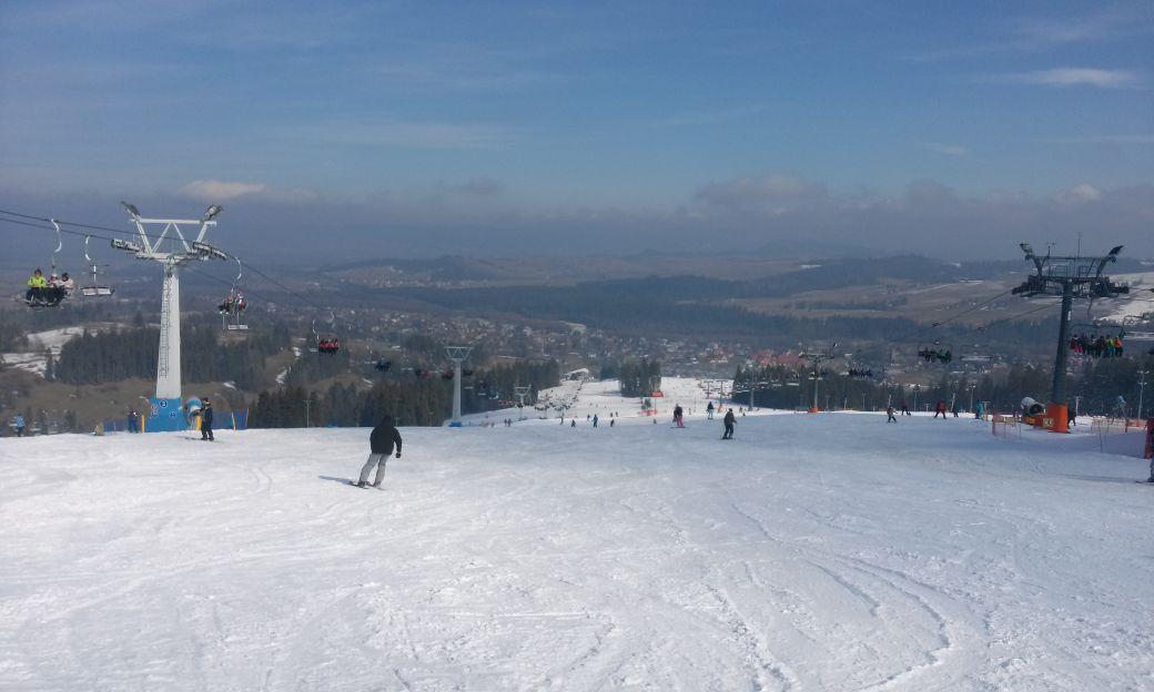 Nasz pierwszy wyjazd na narty