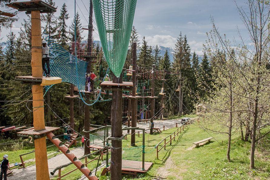 Park linowy w Zakopanem - Złota Grań na Gubałówce 1
