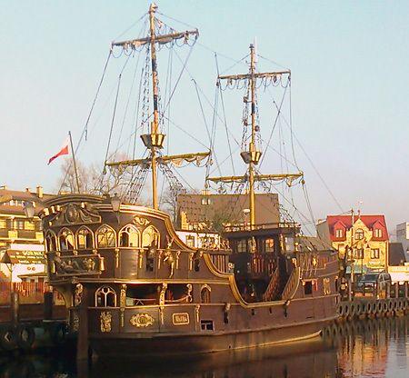 Morskie rejsy statkiem w Łebie 1