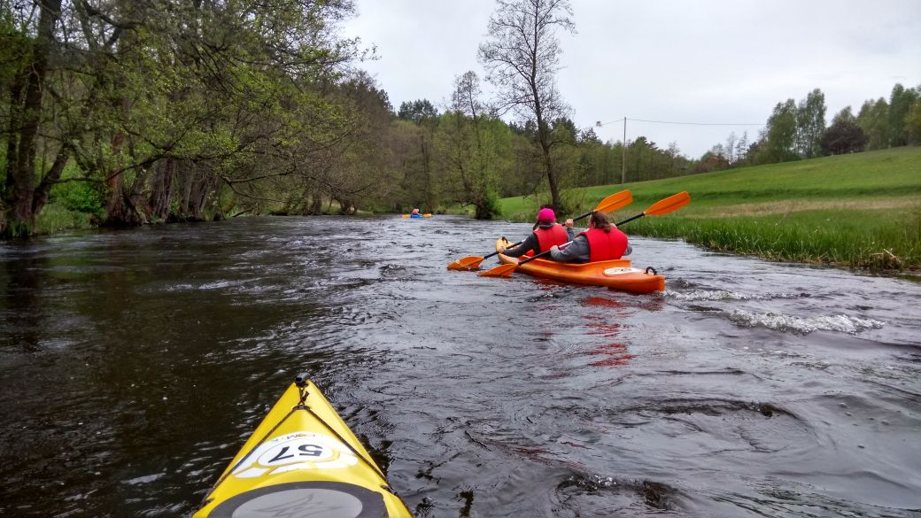 Spływ kajakiem - Stara Rzeka 1