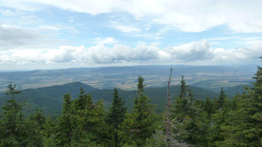 Czarna Góra - szczyt i wieża widokowa 2
