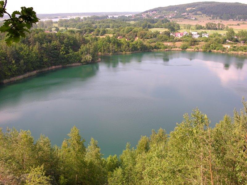 Jezioro Turkusowe na wyspie Wolin 2