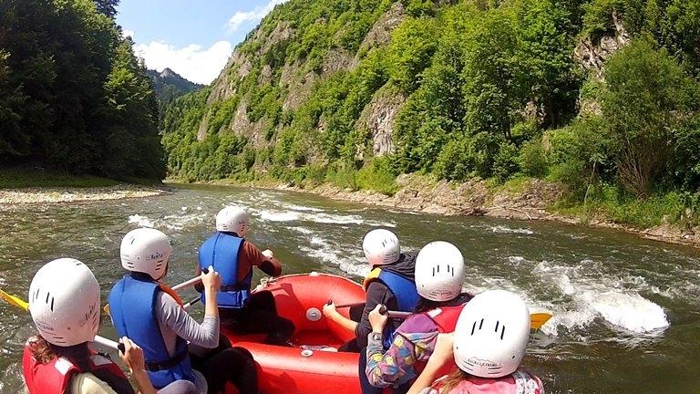 Spływ  Dunajcem Zakopane 1