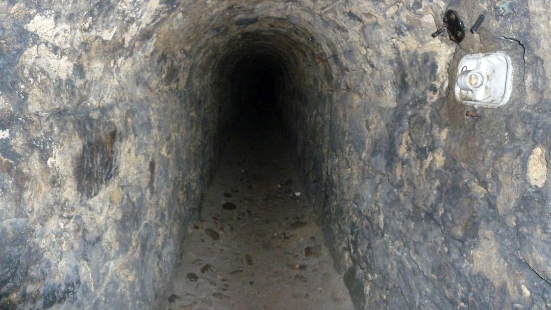 Chodniki kontrminerskie w Twierdzy Kłodzko 1