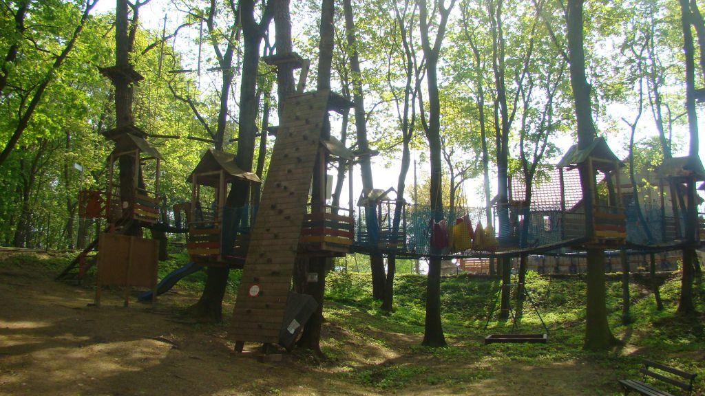 Park Linowy w Krynicy Morskiej - Mierzeja 5
