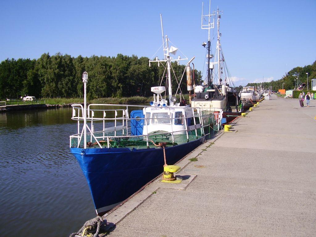 Port rybacki w Łebie 3