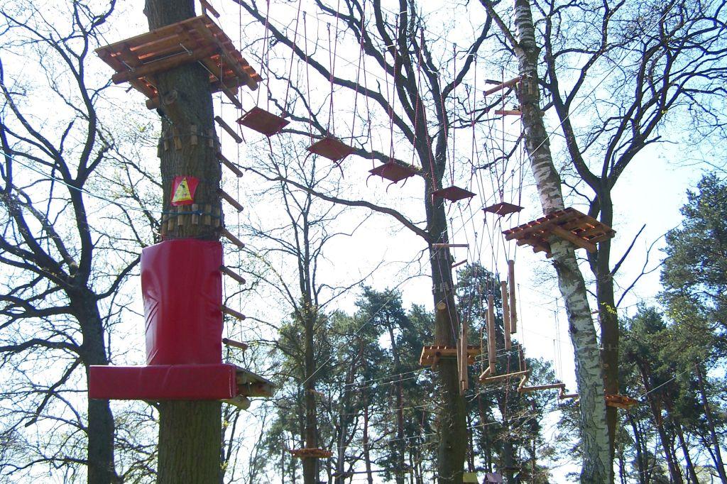 Park Linowy w Krynicy Morskiej - Mierzeja