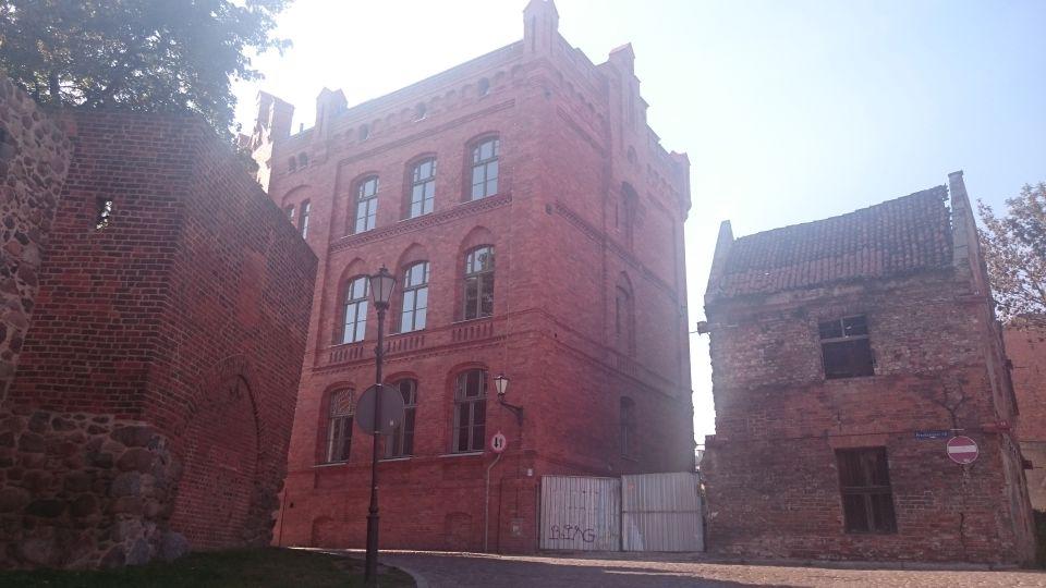Szpital Miejski z XIX wieku w Toruniu