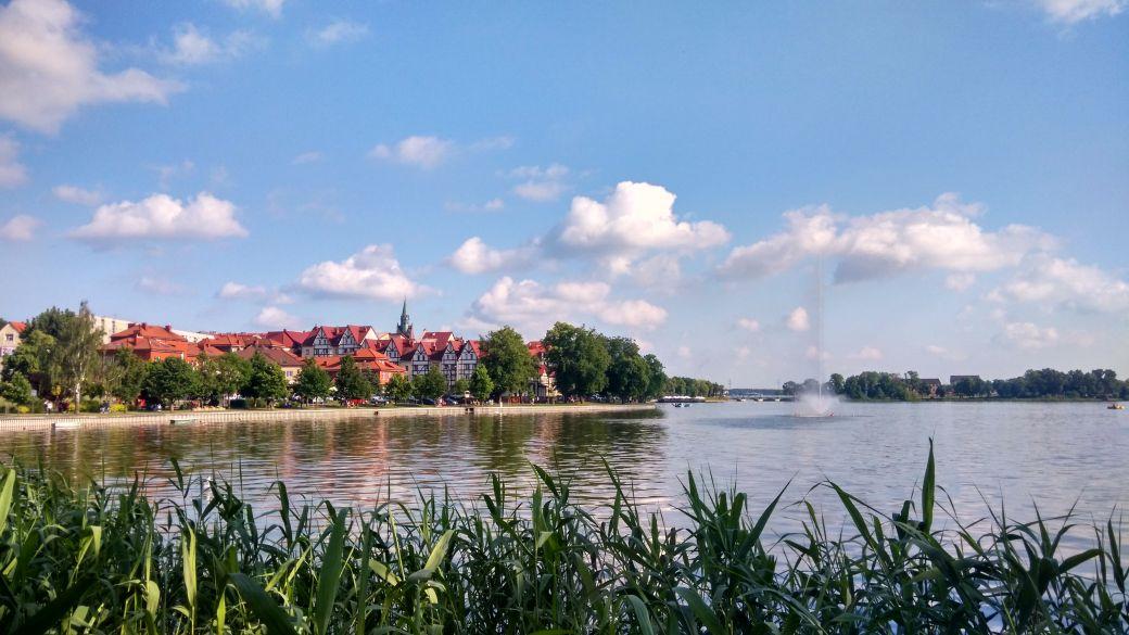 Bulwar nad Jeziorem Ełckim