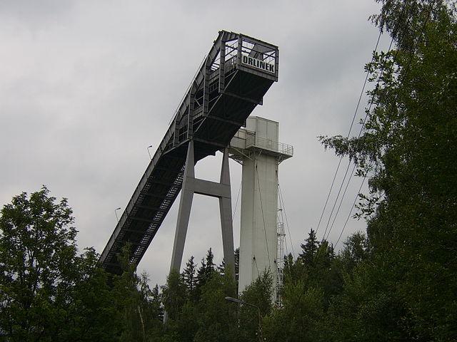 Skocznia narciarska Orlinek