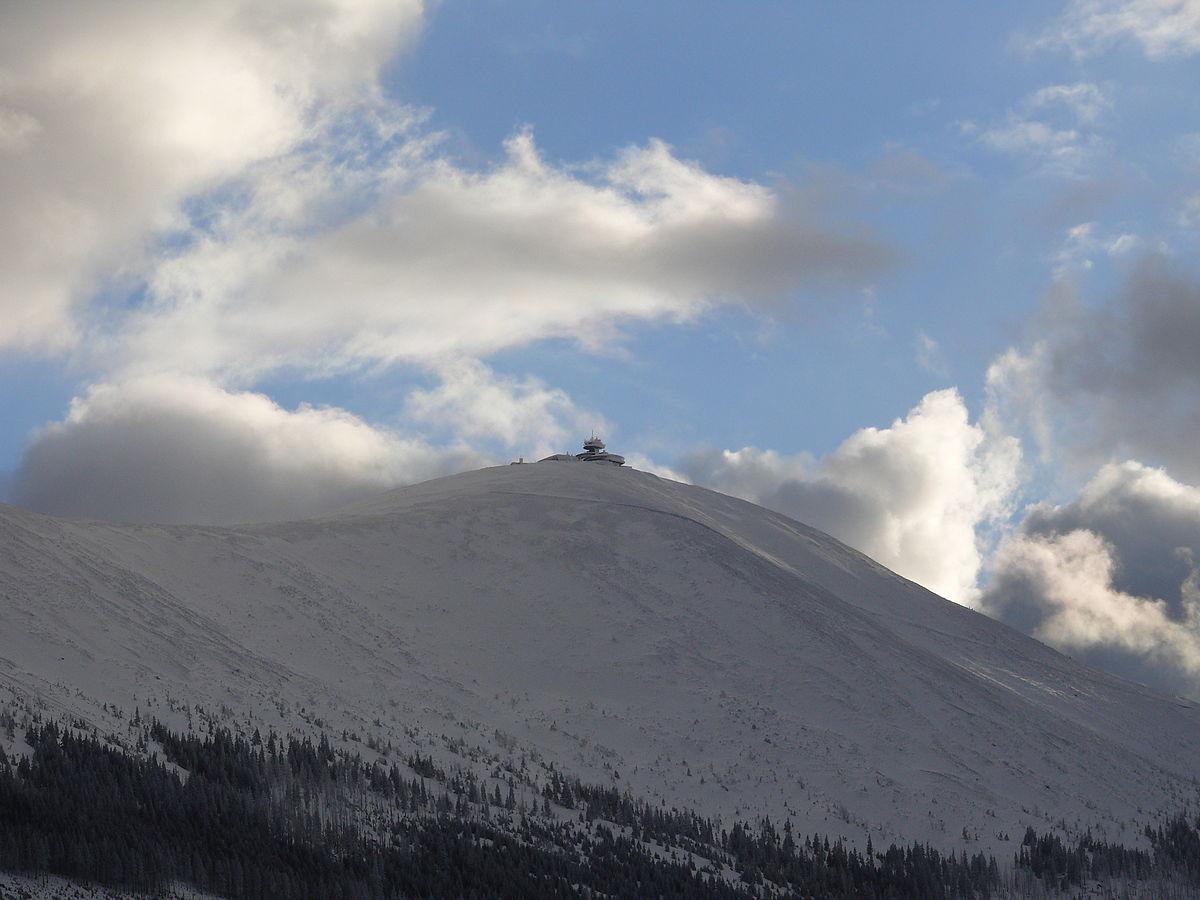 Śnieżka najwyższy szczyt Karkonoszy