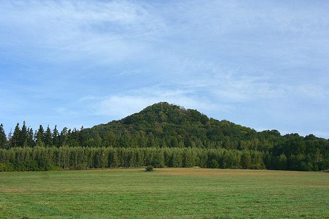 Ostrzyca Proboszczowicka najwyższy wulkan w Polsce 1