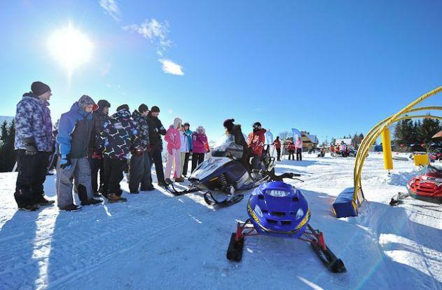 Snow zabawa w Zakopanem 2
