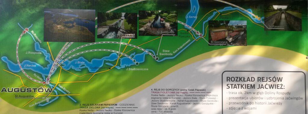 Rejsy po jeziorach Augustowskich i dolinie Rospudy 4