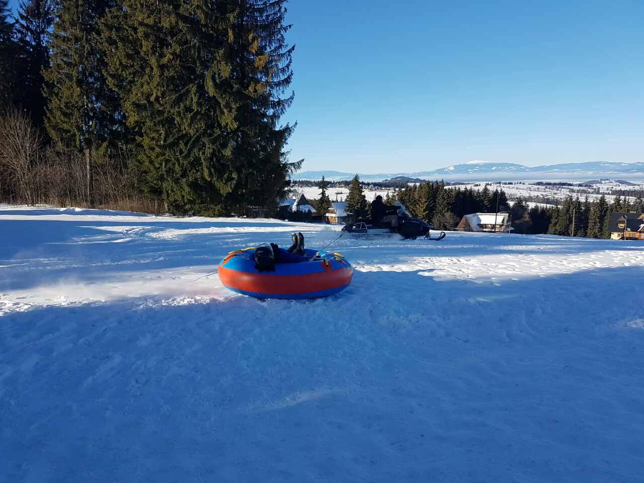 Snow tubing i snow rafting skutery śnieżne w Zakopanem 10