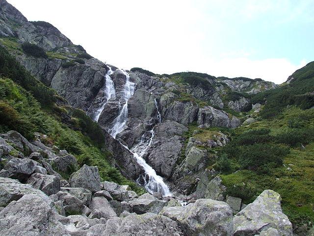 Wodospad Siklawa w Tatrach