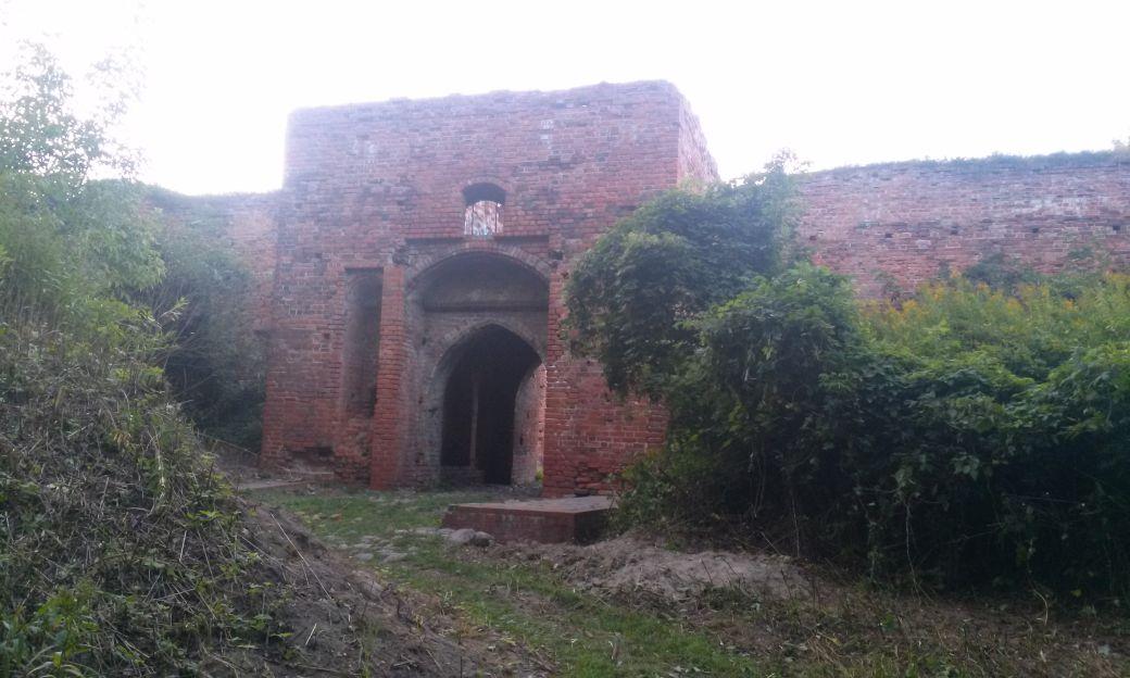 Ruiny Zamek Dybów 5