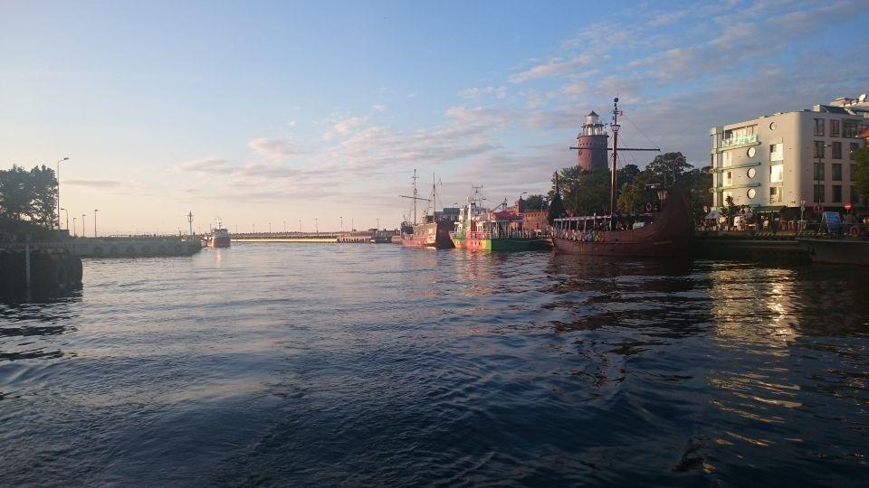 Morski port w Kołobrzegu