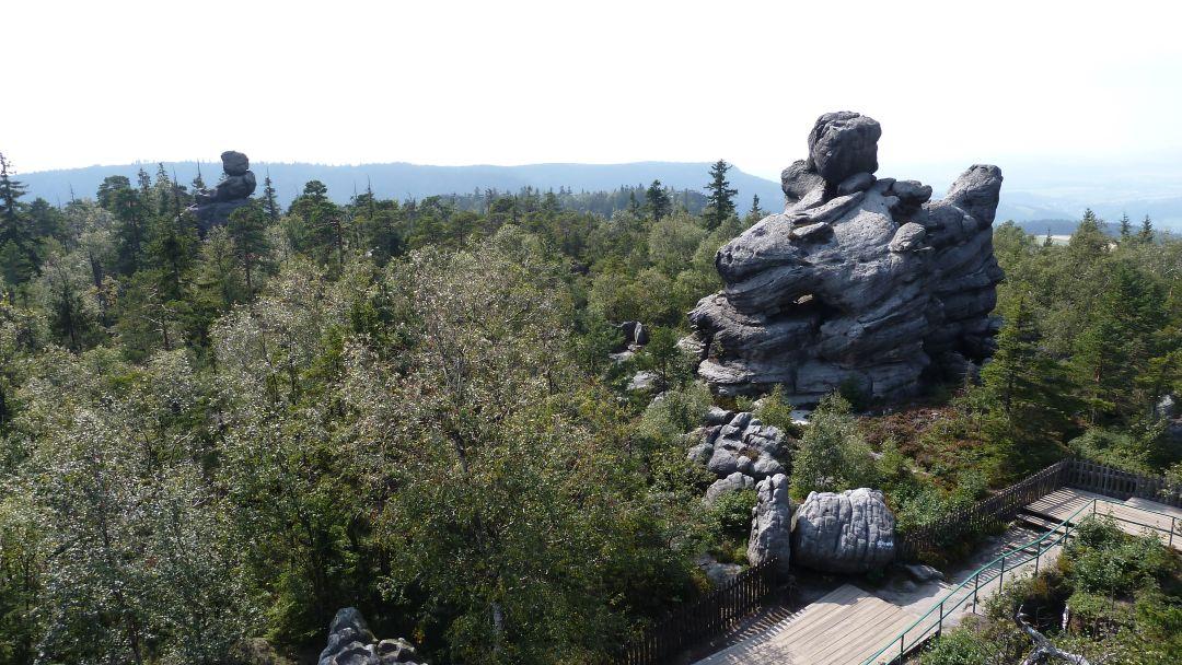 Szczeliniec Wielki - trasa turystyczna 2