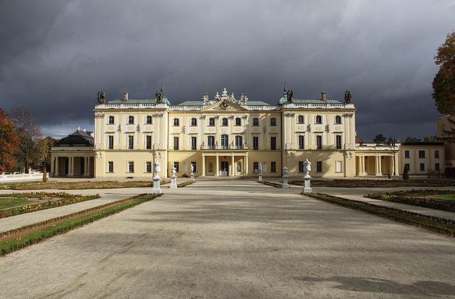 Pałac Branickich czyli Pałac Pracy w Białymstoku