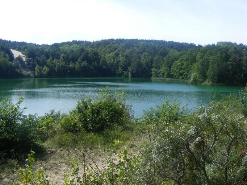 Jezioro Turkusowe na wyspie Wolin 1