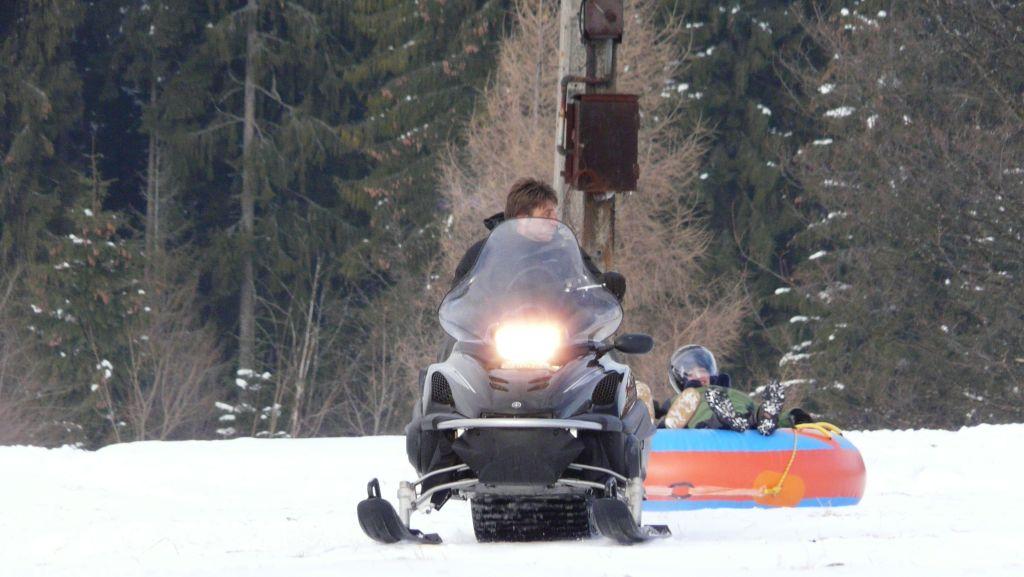 Snow tubing i snow rafting skutery śnieżne w Zakopanem 1