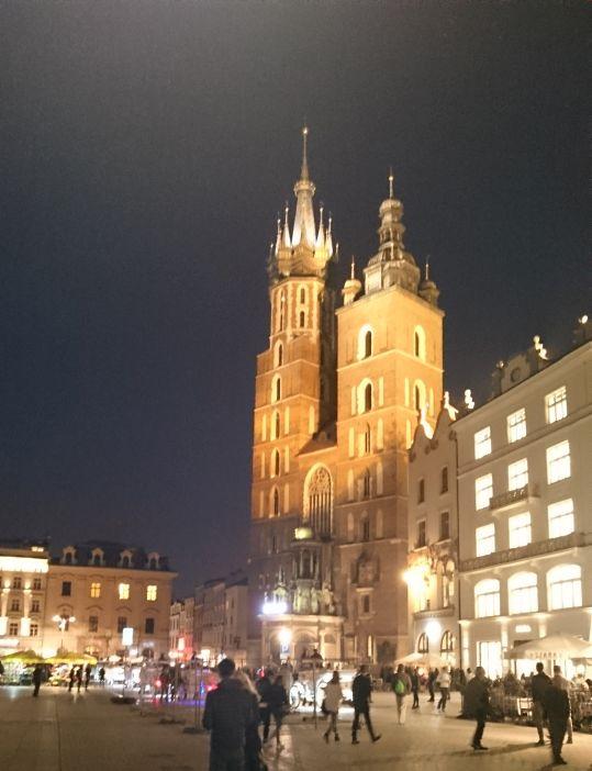 Zabytkowy Kościół Mariacki w Krakowie