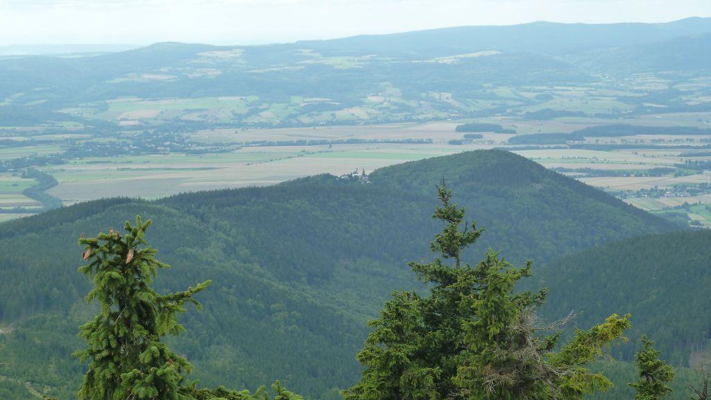 Czarna Góra - szczyt i wieża widokowa 4