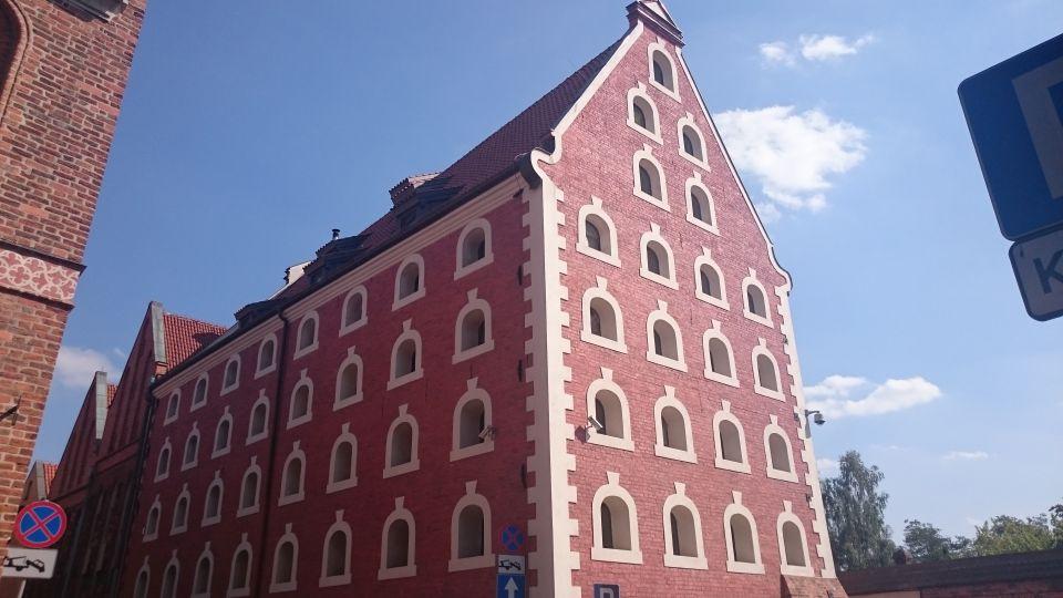 Barokowy Spichlerz na ulica Piekary