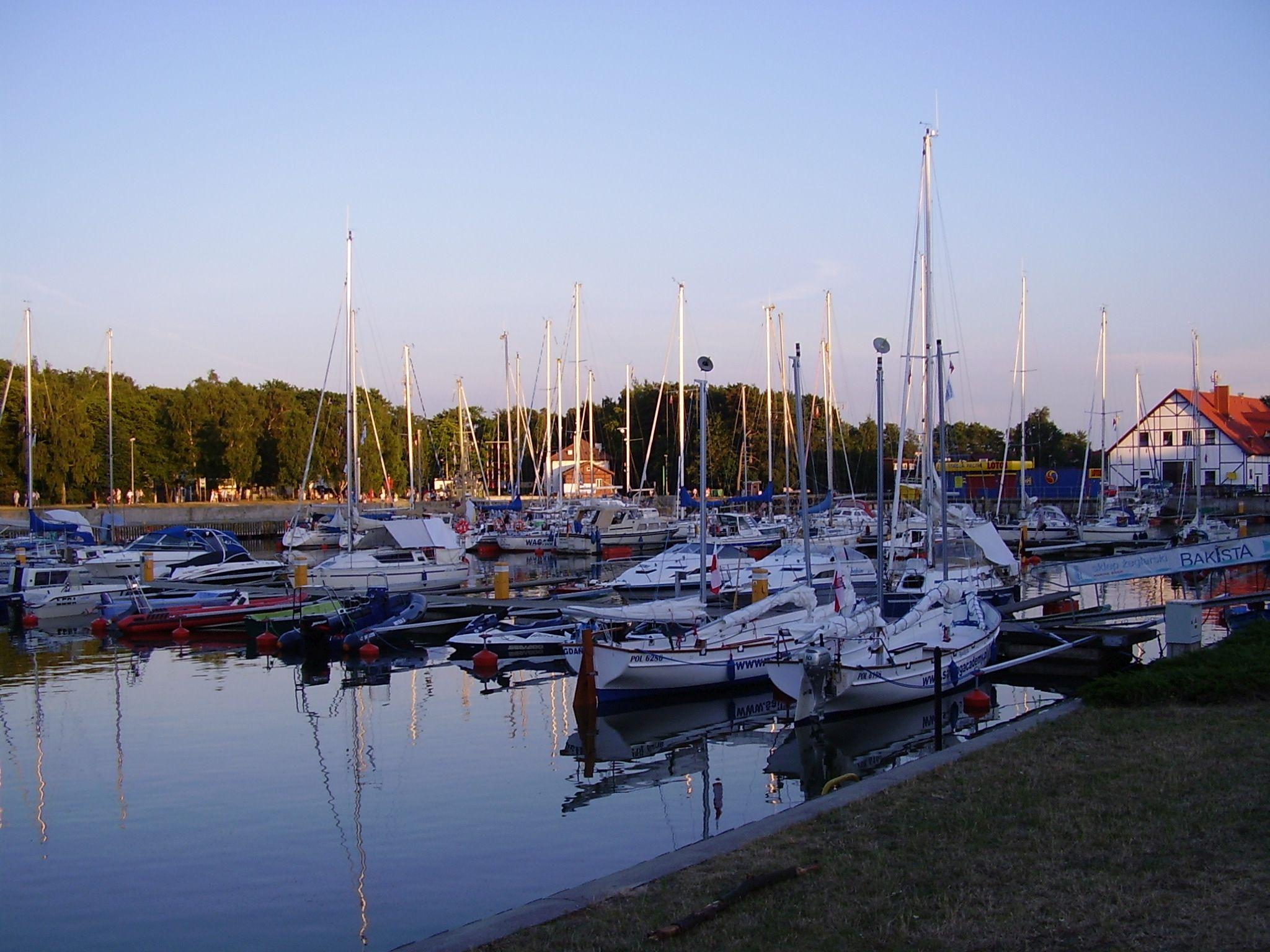 Port rybacki w Łebie 2