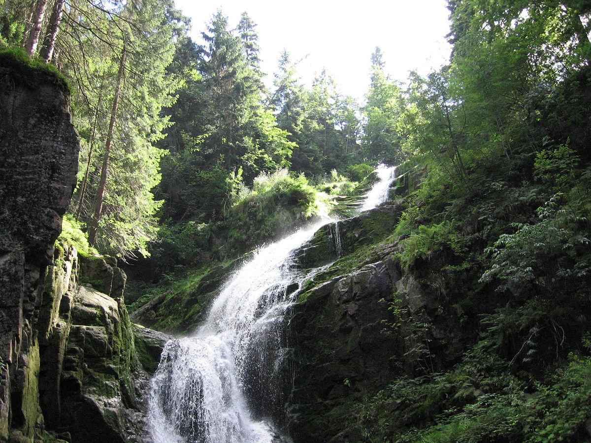 Wodospad Kamieńczyka – największy wodospad w Sudetach