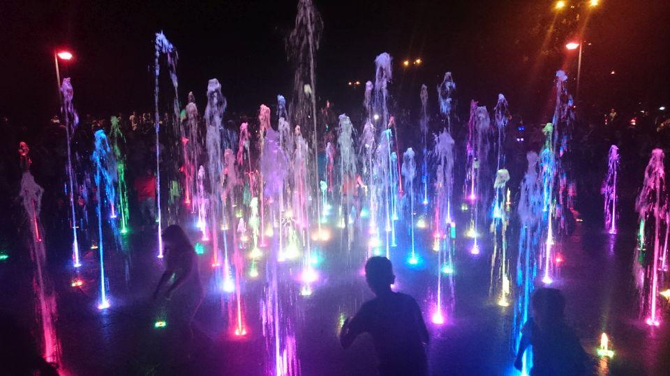 Cosmopolis Fountain w Toruniu